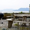 EATING OUT: Taylor Shellfish: Barbecue on the beach
