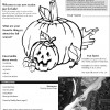 Junior Growers October 2012 activity sheet
