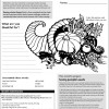 Juniors Growers November 2012 activity sheet