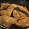 Delicious dish: Pot stickers, corned beef casserole