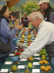 Tasting samples at Cloud Mountain Farm Center. COURTESY PHOTO