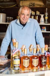 Bob Stillnovich, co-owner of Golden Distillery. BY JESSAMYN TUTTLE