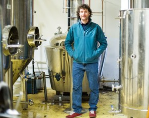 Matt Howell of Chuckanut Bay Distillery. PHOTO BY JESSAMYN TUTTLE
