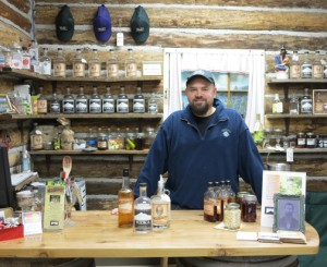Troy Smith, owner of Mount Baker Distillery. PHOTO BY BRENT COLE