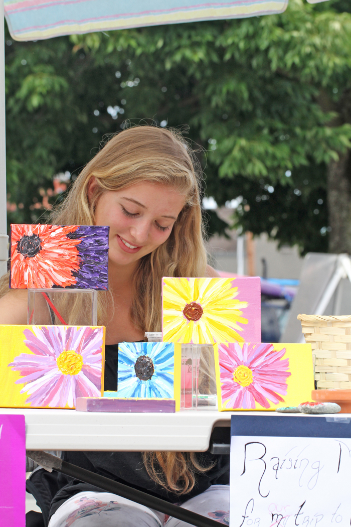 Youth Vendors Try Out Local Markets Grow Northwest