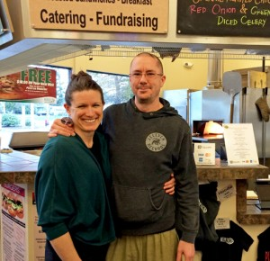 Owners Will Annett and Erica Lamson take pride in sourcing local ingredients year-round.  COURTESY PHOTO