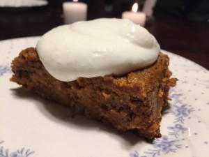 Grain Free Sweet Potato Ginger Cake. Photo by Corina Sahlin