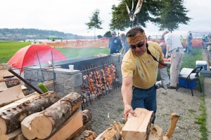 Visitors can meet fishermen, tour boats, and try knot-tying and net-mending, as well as tour Bellingham Cold Storage's ice house and fish processing plant. When you'e ready to eat, visit the Lummi Nation members grilling open-pit salmon and several food vendors on site. COURTESY PHOTO