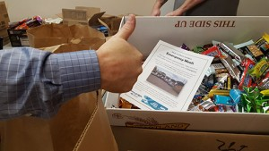 Meals on Wheels and More Whatcom/San Juan, with the help of Dewey Griffin Subaru, recently assembled and provided emergency meals to recipients. COURTESY PHOTO