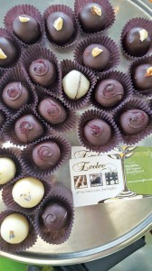 A look at some of the truffles created by Evolve Chocolate. COURTESY PHOTO