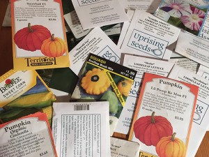 seed swap packets color web