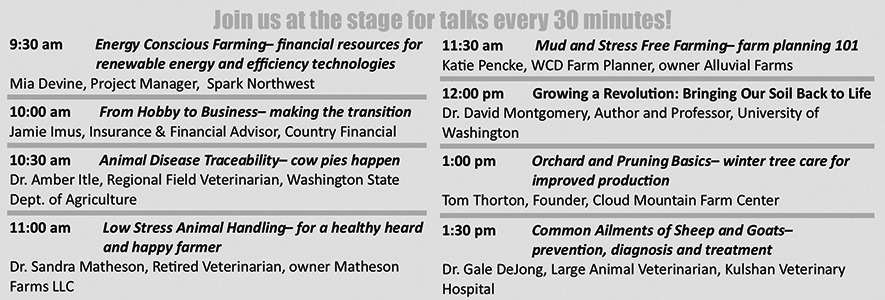 small farm expo speakers bw