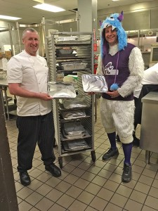 Squatch with Devin Kellogg, Executive Sous Chef at Semiahmoo. COURTESY PHOTO