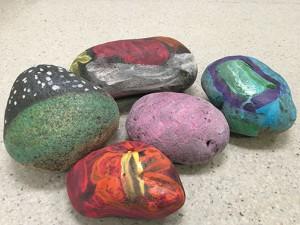 rocks web