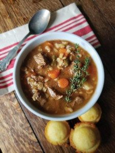 Beef and barley soup. Photo by Chelsy Mesman/Mesman Farm