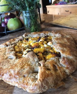Butternut Squash and Caramelized Onion Galette. Photo by Jessica Gigot, Harmony Fields