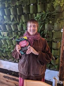 Gigi Berardi with her new book. COURTESY PHOTO