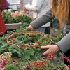 Holiday decor: Community wreath making and more